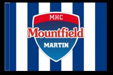 MHC Mountfield Martin športová vlajka s tunelom