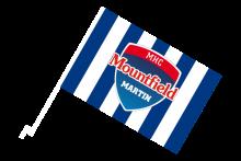 MHC Mountfield Martin športová autovlajka