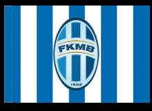 Mladá Boleslav športová vlajka s tunelom