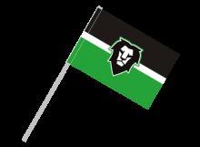 Mladá Boleslav športová vlajka s plastovou tyčou