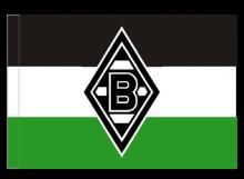 Mönchengladbach športová vlajka s tunelom