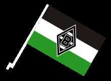 Mönchengladbach športová autovlajka