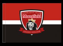 Mountfield Hradec Králové športová vlajka s tunelom