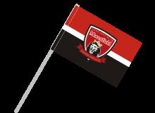 Mountfield Hradec Králové športová vlajka s plastovou tyčou
