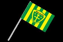 MŠK Žilina športová vlajka na plastovej tyčke