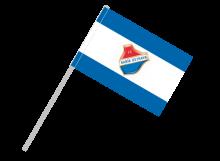 Ostrava športová vlajka s plastovou tyčou