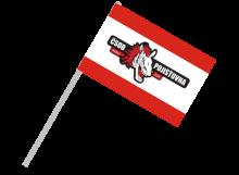 Pardubice športová vlajka s plastovou tyčou