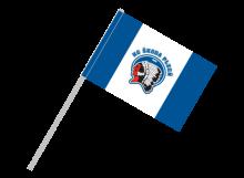 Plzeň športová vlajka s plastovou tyčou