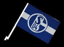 Schalke športová autovlajka