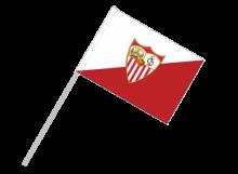 Sevilla športová vlajka s plastovou tyčou