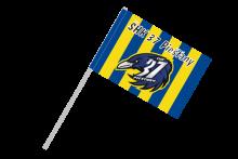 ŠHK 37 Piešťany športová vlajka na plastovej tyčke