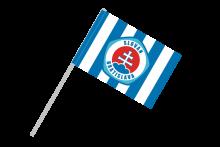 ŠK Slovan Bratislava športová vlajka s plastovou tyčkou