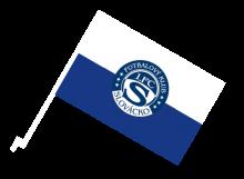 Slovácko športová autovlajka