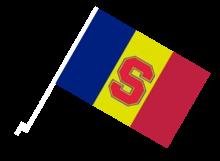 Sparta Praha športová autovlajka