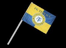 Teplice športová vlajka s plastovou tyčou