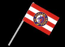 Třinec športová vlajka s plastovou tyčou