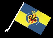 Villarreal športová autovlajka