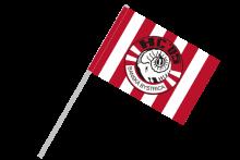 HC 05 Banská Bystrica vlajka na plastovej tyčke