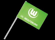 Wolfsburg športová vlajka s plastovou tyčou