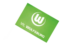Wolfsburg športová autovlajka